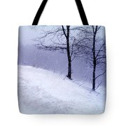 Winter Slope Tote Bag