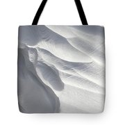 Winter Snow Drift Sculpture  Tote Bag