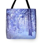 Winter Solace Tote Bag