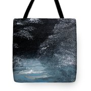 Winter Sparklers Tote Bag