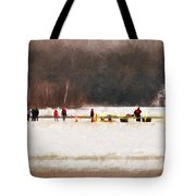 Winter Splash Xxxii Tote Bag