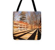 Winter Spring Crossover Tote Bag