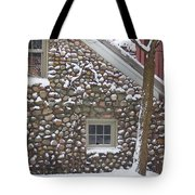 Winter Stone Pattern Tote Bag
