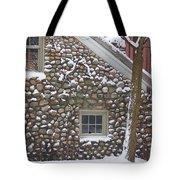 Winter Stone Pattern Tote Bag