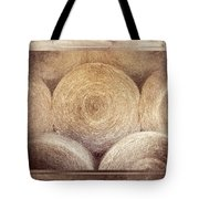 Winter Storehouse Tote Bag by Carolyn Marshall