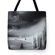Winter Storm Clears Tote Bag