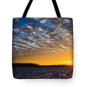 Winter Sunset 1 Tote Bag