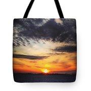 Winter Sunset 2 Tote Bag