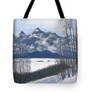 Winter Tetons Tote Bag
