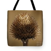 Winter Thistle Tote Bag