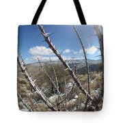 Winter Thorns Tote Bag