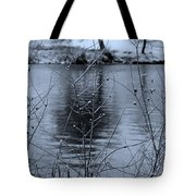 Winter Touch Tote Bag