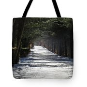 Winter Trail Tote Bag