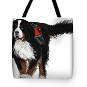 Winter Trails Tote Bag by Liane Weyers