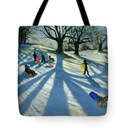 Winter Tree Tote Bag by Andrew Macara