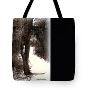Tree With Ice Tote Bag