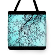 Winter Tree Tote Bag by Cathy Jacobs