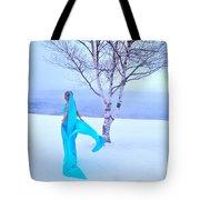 Winter Tree Empress Tote Bag
