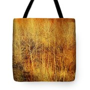 Winter Trees Color 4 Tote Bag