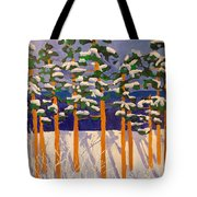 Winter Valley Tote Bag