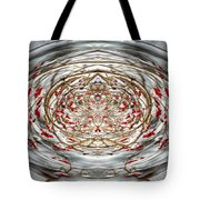 Winter Versus Spring Thaw Tote Bag