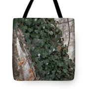 Winter Vine Tote Bag
