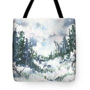 Winter Walk Tote Bag