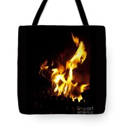Winter Warmth Tote Bag