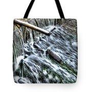 Winter Waterfall 2 Tote Bag