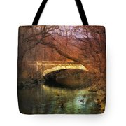Winter Waters Tote Bag