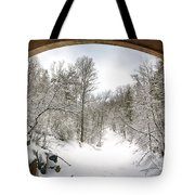 Winter Welcome Tote Bag