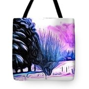 Winter Whimsey  Tote Bag
