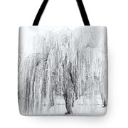Winter Willow Tote Bag