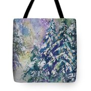 Winter Winds Tote Bag