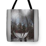Winter Wine Tote Bag