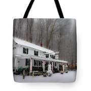 Winter Wonderland At The Valley Green Inn Tote Bag