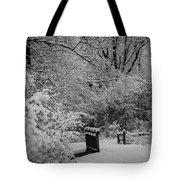Winter Wonderland Tote Bag by Sebastian Musial