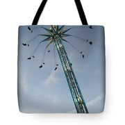 Winter Wonderland Star Flyer Tote Bag