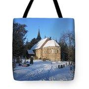 Winter Worship Tote Bag