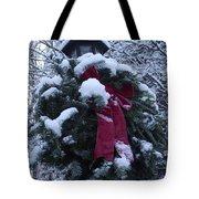 Winter Wreath Tote Bag