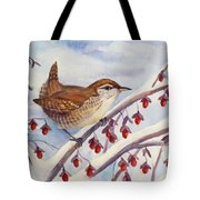 Winter Wren Tote Bag