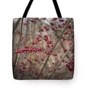 Winterberries Squared Tote Bag