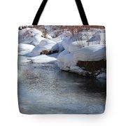 Winter's Blanket Tote Bag