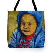 Winter's Child Tote Bag