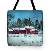Winter's Colors Tote Bag