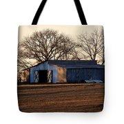 Winter's Cow Barn Tote Bag