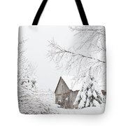 Winter's End Tote Bag