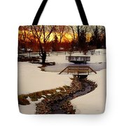 Winters Exit Tote Bag
