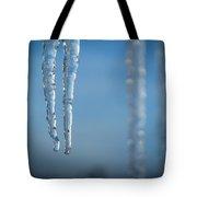 Winter's Fangs Tote Bag