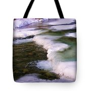 Winters Ice Tote Bag